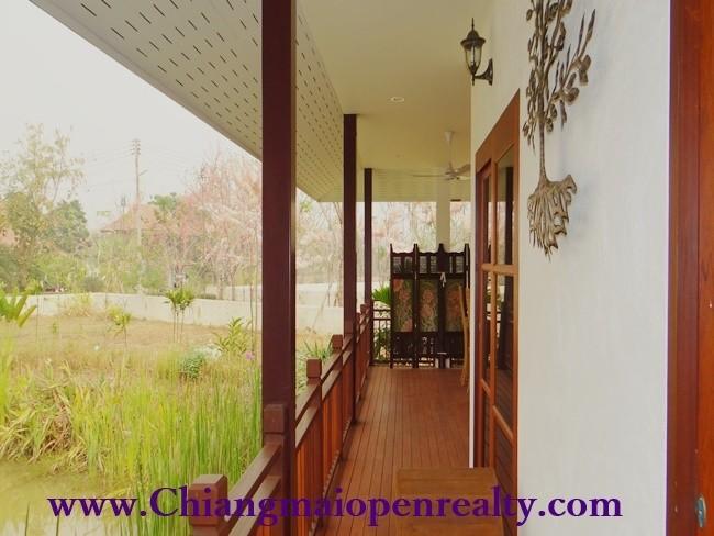 [HVS001] Traditional Lanna architecture boutique resort – Jasmine Hills Villas & Spa