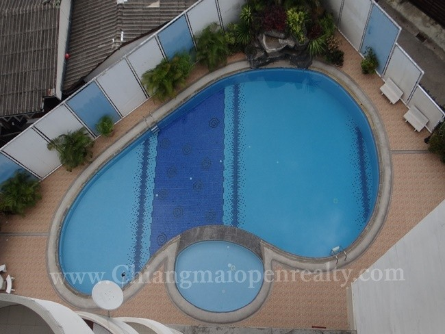 [Supanich701] Thai Style with wooden furnished 1 Bedroom @ Supanich Condo.