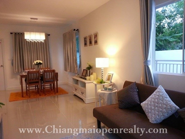 [H263] Lovely house with 3 bedrooms for rent @ Pruksaville 75