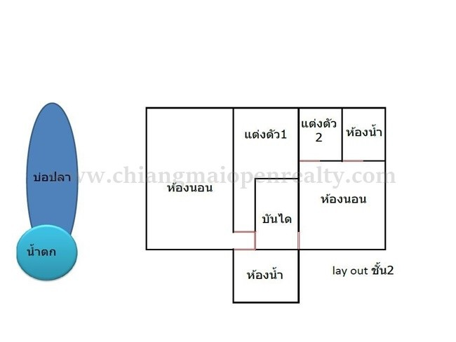 [H291] Modern house with home office and pets hotel for sale @ Sansai