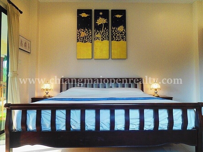 [H305] An amazing houses with private pool for sale @ Jasmine Happy Home, Sansai