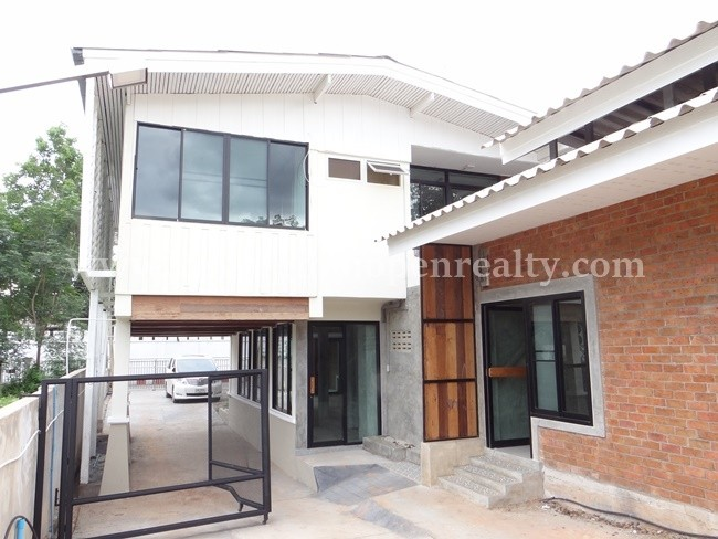 [H335] Newly renovate house and extremely close to Ping River for rent @ Muang. – Rented until May 2017 -