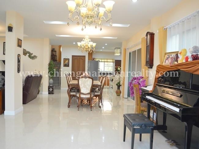 [H338] House on land area 4 rai for sale @ Sansai