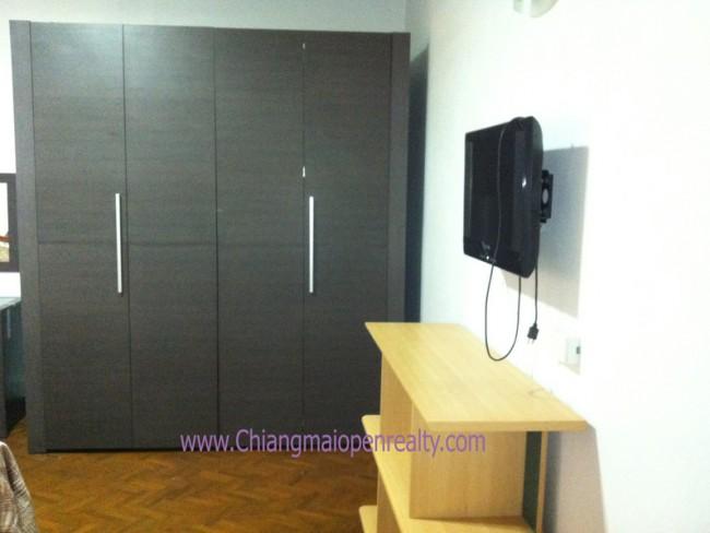 [CR155] Apartment for Rent / Sale 2 bedrooms 1 bathrooms @ Chiangmai Riverside condo.
