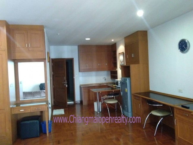 [CR158] Apartment for Rent studio River view @ Chiangmai Riverside condo